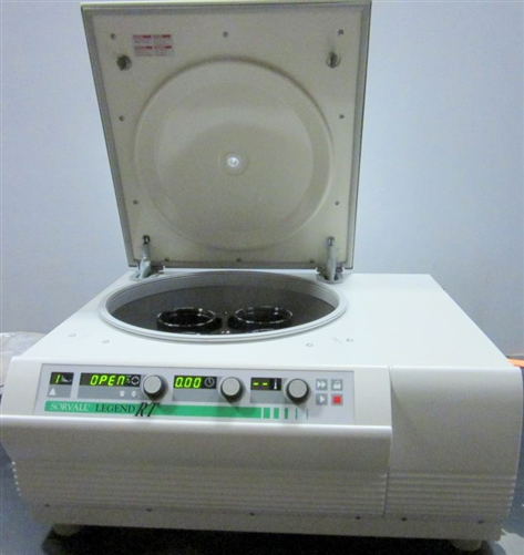 Sorvall Legend Rt Refrigerated Benchtop Centrifuge