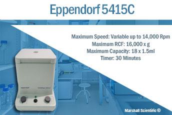eppendorf 5415C centrifuge