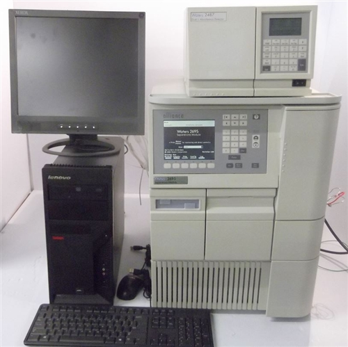 Waters 2695 HPLC System w/ 2487 UV Detector | Marshall Scientific